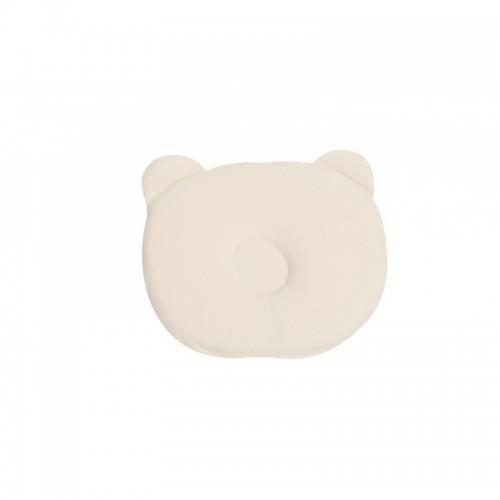 Μαξιλάρι Βρεφικό για το Σύνδρομο της Πλαγιοκεφαλίας Memory Foam 0m+ Λευκό Grecostrom VRE.PLA.WHI.000
