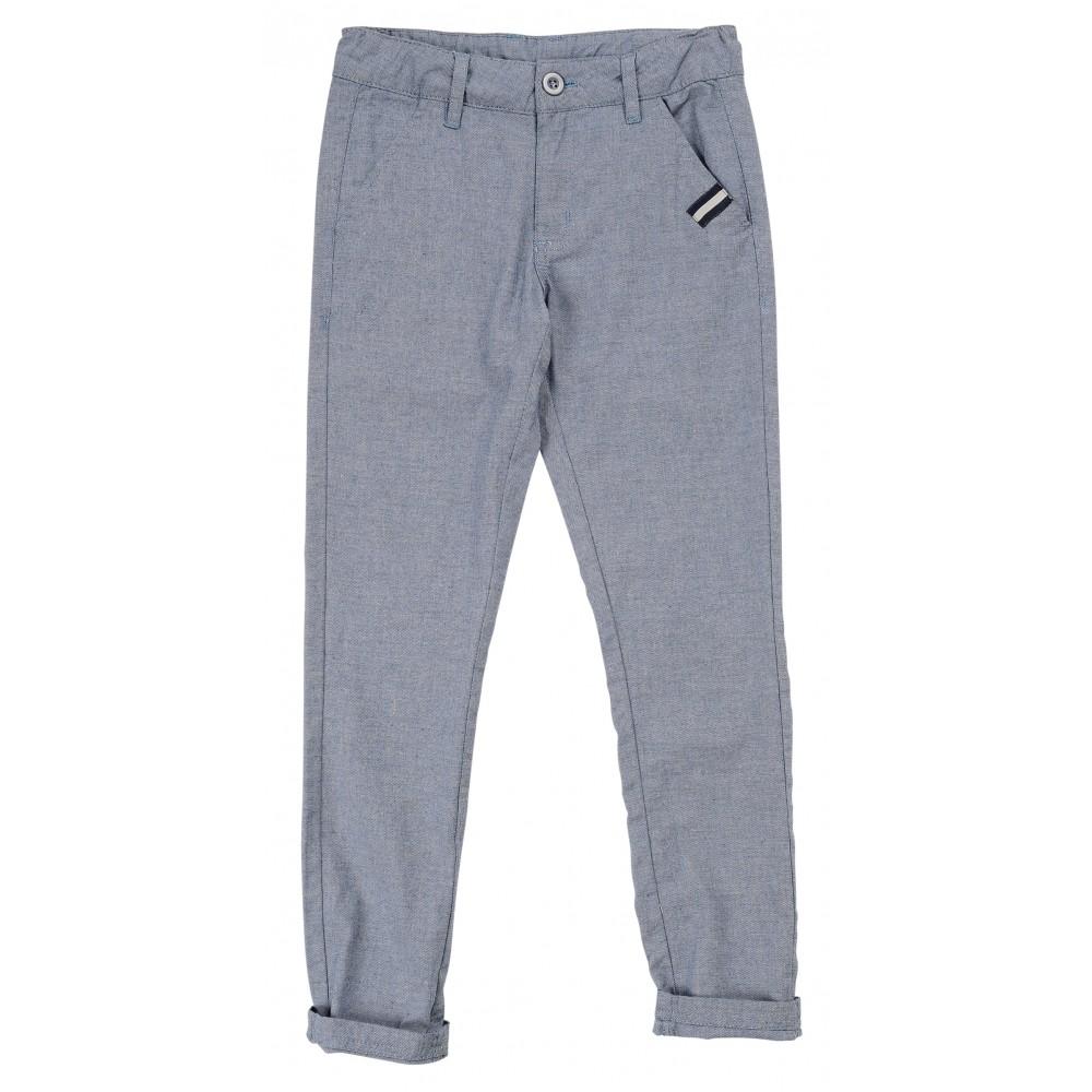 Παντελόνι σιέλ για αγόρι For Funky 120-111104-1