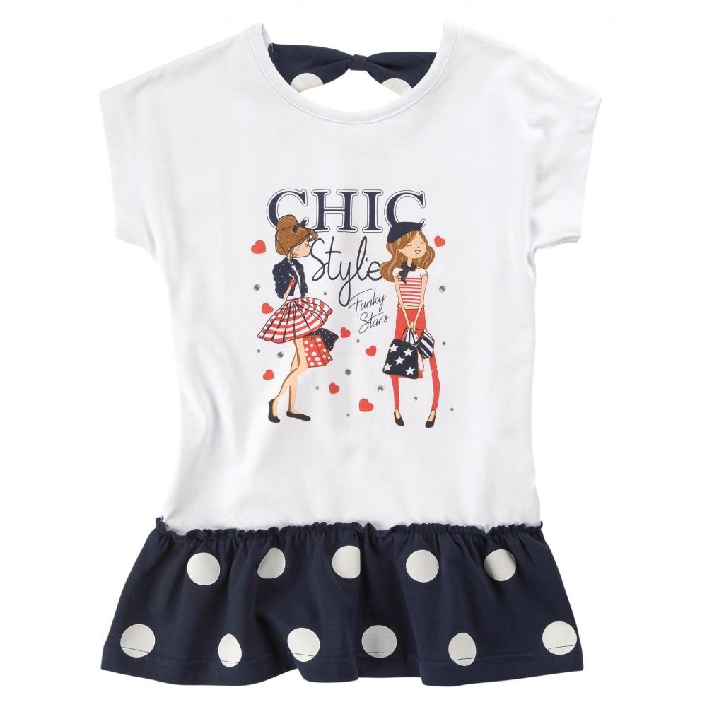 Φόρεμα μακό για κορίτσι For Funky 120-728103-1