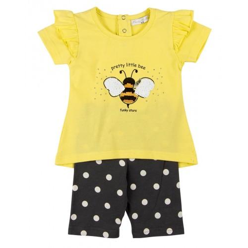 Σετ ρούχο μπλούζα με σορτς για κορίτσι For Funky 121-919105-1
