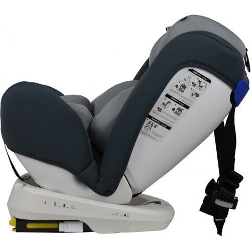 Κάθισμα Αυτοκινήτου Isofix 360° Levante Grey 910-186 (ΕΤΟΙΜΟΠΑΡΑΔΟΤΟ)