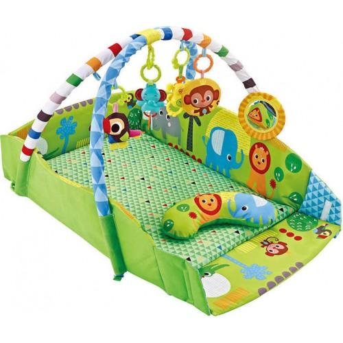 Εκπαιδευτικό γυμναστήριο Bebe Stars Zoo 3in1 0-36m 100-161