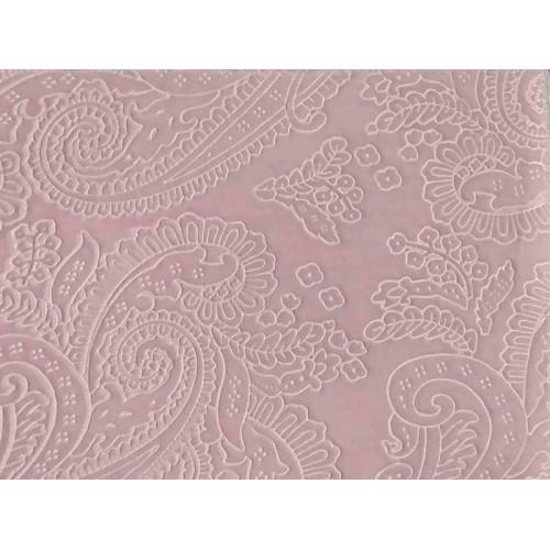 Κουβέρτα Ανάγλυφη με Γούνα Sherpa Αγκαλιάς Morven Capricho B27 Ροζ 80x110