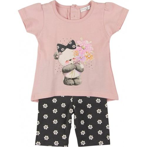 Σετ ρούχο μπλούζα με κάπρι κολάν για κορίτσι For Funky 121-919100-1