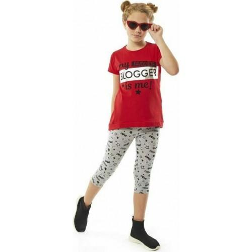 Σετ ρούχο μπλούζα με κολάν για κορίτσι Ebita 214052