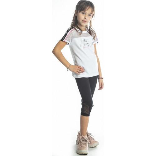 Σετ ρούχο μπλούζα με κάπρι κολάν για κορίτσι Joyce 211525