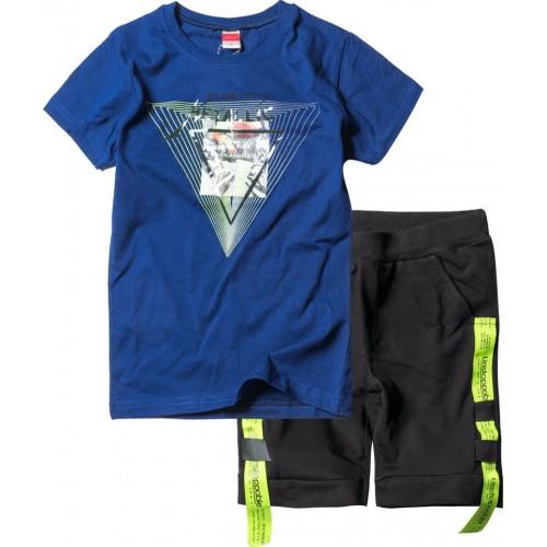 Σετ ρούχο μπλε μακό για αγόρι Joyce 211737