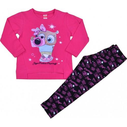 Σετ ρούχο μπλούζα με κολάν για κορίτσι Joyce 216141