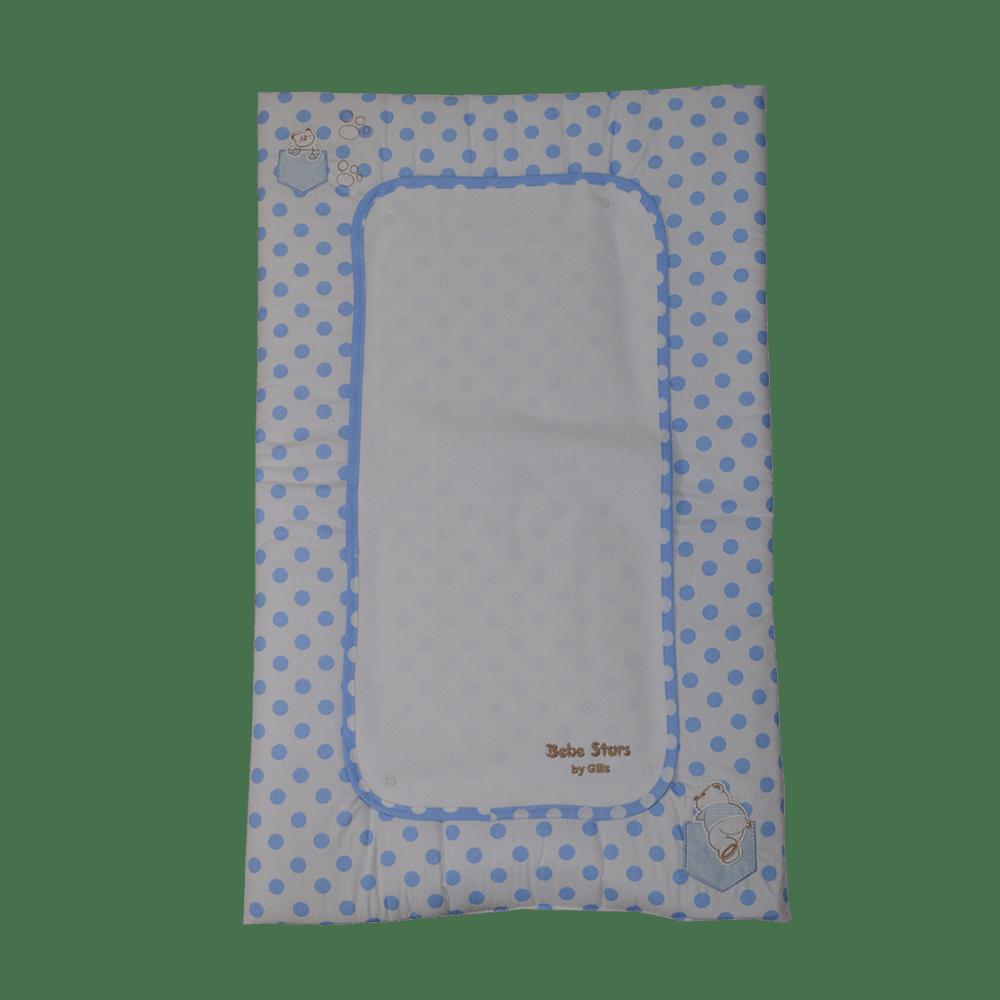Αλλαξιέρα υφασμάτινη με σελτέ Stripes Bear Bebe Stars 3047