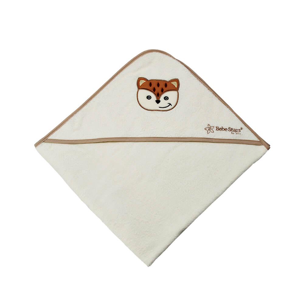 Μπουρνούζι Κάπα Fox Bebe Stars 3062