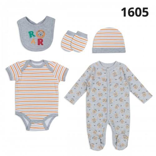 Σετ νεογέννητο 5 τεμ αγόρι Serafino 1605