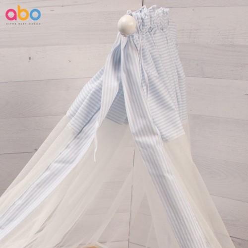 Κουνουπιέρα Γαλάζια Abo 180x510cm M.8081.500