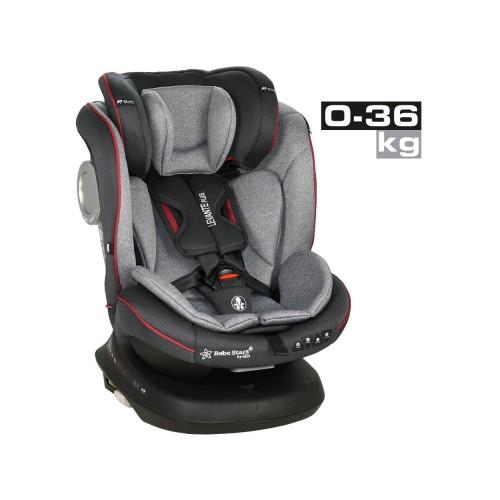 Κάθισμα Αυτοκινήτου Levante Plus Isofix 0-36kg 360° Red Bebe Stars 912-185
