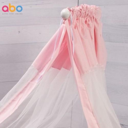 Κουνουπιέρα Ροζ Abo 180x510cm M.8081.400