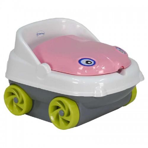 Γιογιό-Κάθισμα Musical Car Pink/Grey Bebe Stars 73-174