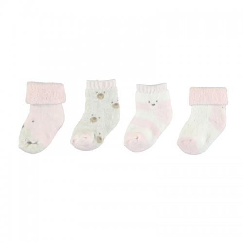 Σετ 4 καλτσάκια για κορίτσι Newborn Mayoral 11-09421-083