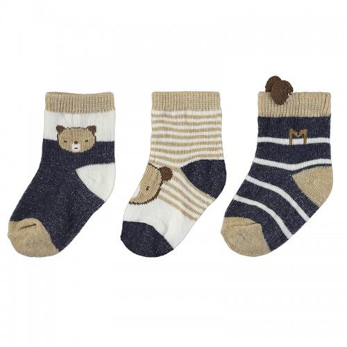 Σετ κάλτσες 3 τεμ για αγόρι Mayoral 11-09424-079