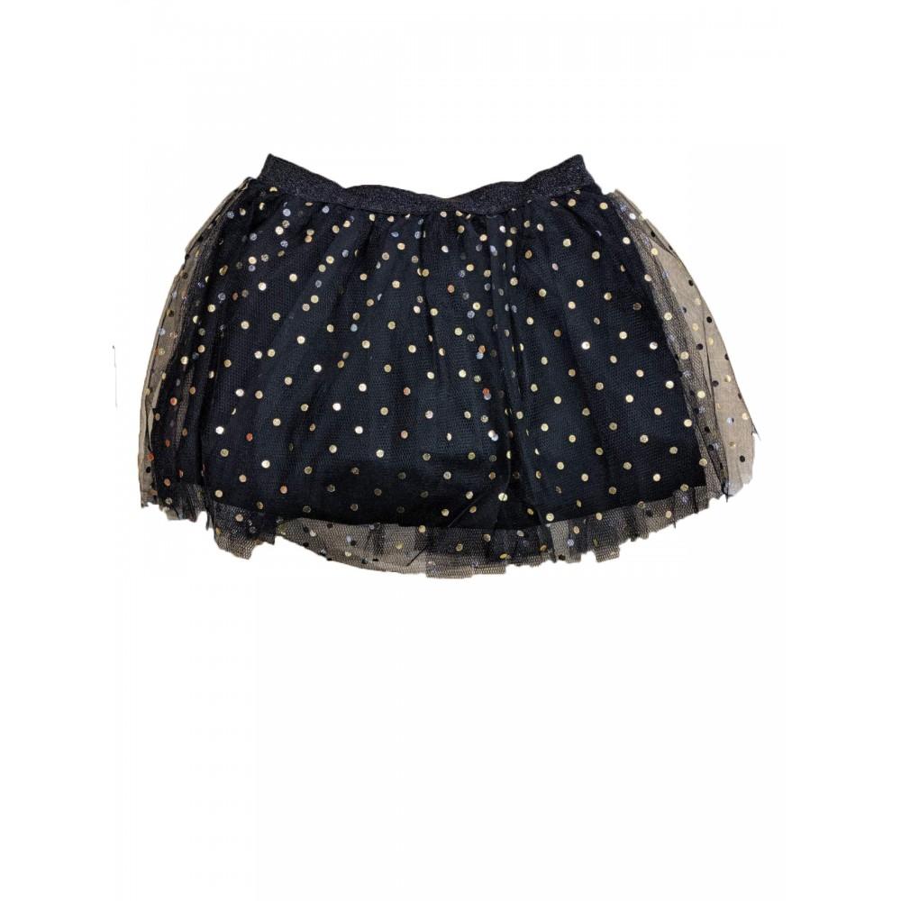 Φούστα μαύρη για κορίτσι For Funky 220-533109-1