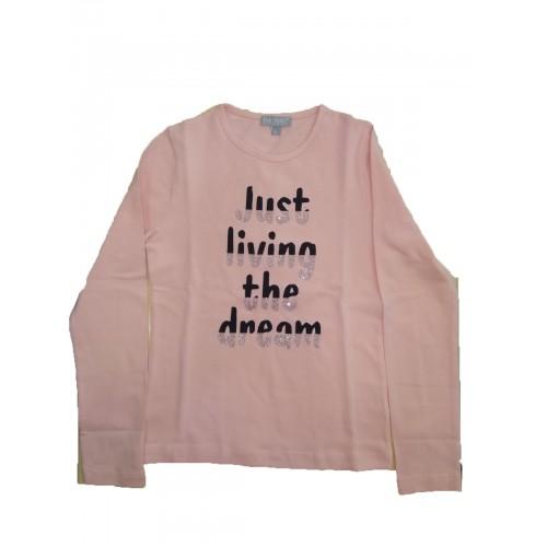 Μπλούζα ροζ για κορίτσι Fun Strike 3763