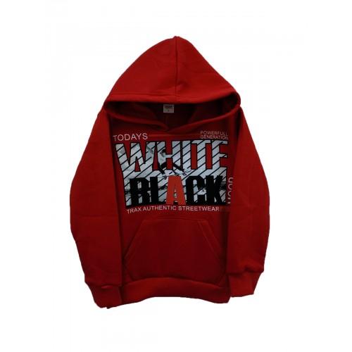 Μπλούζα κόκκινη φούτερ για αγόρι Trax 38875