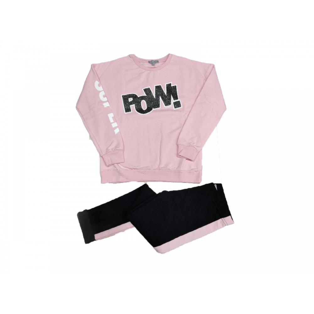 Σετ ρούχο μπλούζα με κολάν για κορίτσι Fun strike 3797