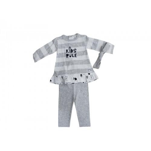 Σετ ρούχο για κορίτσι Baby bol 10855