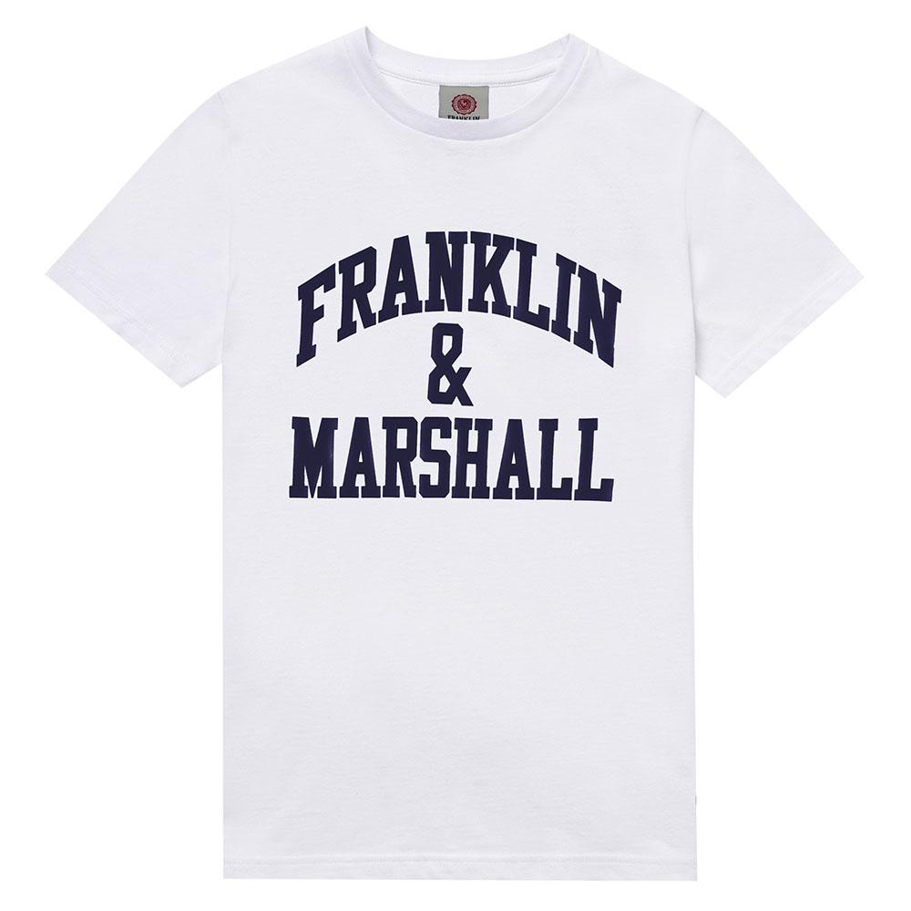 Μπλούζα λευκή για αγόρι Franklin & Marshall FMS0470-002
