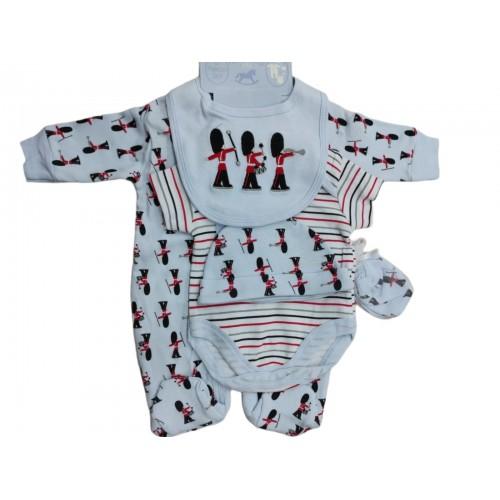 Σετ νεογέννητο 5 τεμ αγόρι Serafino K12437
