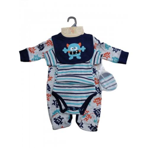 Σετ νεογέννητο 5 τεμ αγόρι Serafino F7219