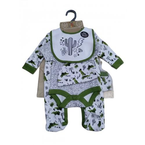 Σετ νεογέννητο 5 τεμ αγόρι Serafino P16256