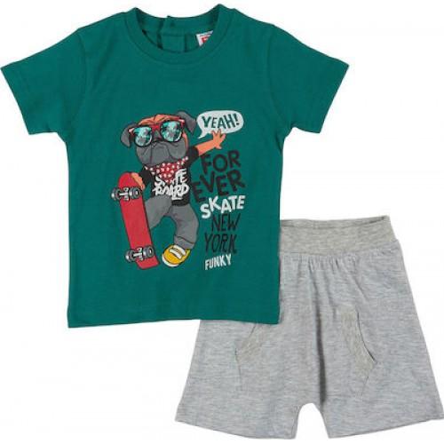 Σετ ρούχο μακό για αγόρι For Funky 121-801120-1