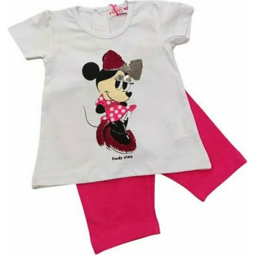 Σετ ρούχο μπλούζα με σορτς για κορίτσι For Funky 121-919101-2
